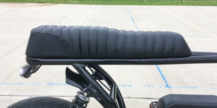 Spark Cycleworks Bandit Padded Leather Banana Seat