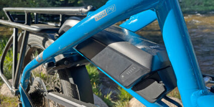 Tern Hsd P9 Bosch Powerpack 400 With Charge Indicator And Plug Port On Bike