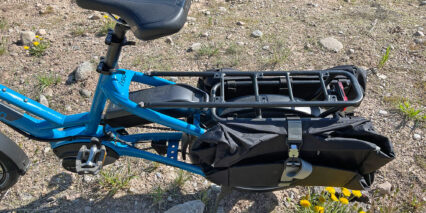 Tern Hsd P9 Midtail Cargo Rack With Pannier Bags
