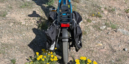 Tern Hsd P9 Rear View With Pannier Bags Attached