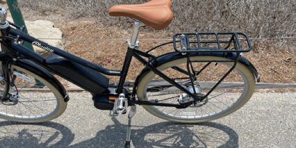 Bluejay Premiere Edition Paint Matched Aluminum Alloy Fenders And Rear Rack