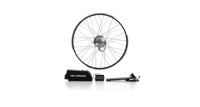 dillenger 350w geared electric bike kit review