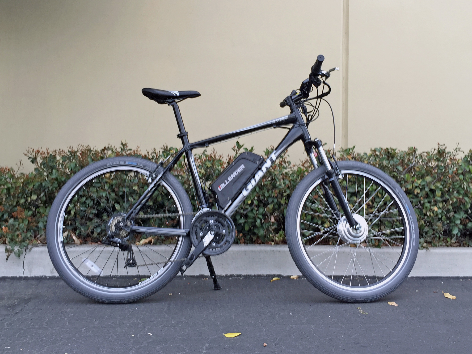 Dillenger Electric Bikes The motor is a watt or
