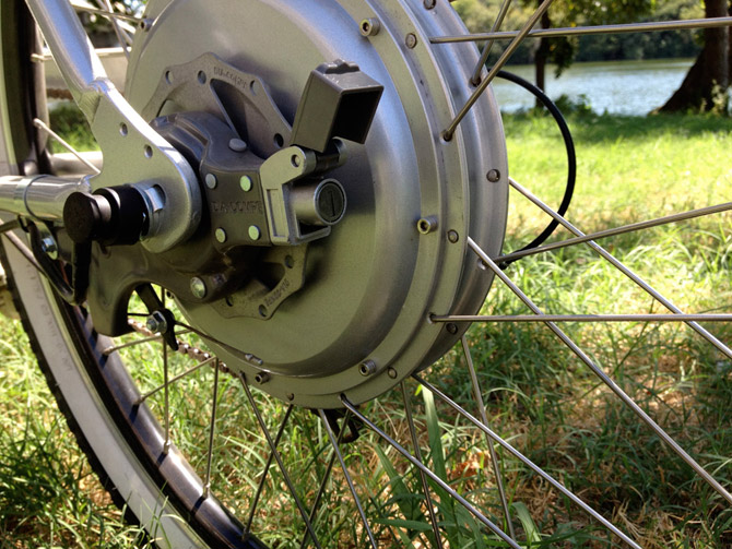 Bike Hubs Review One thing this bike does not